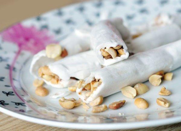Đặc sản kẹo dồi Nam Định