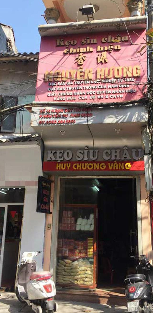 Cửa hiệu 12 Hàng Sắt Kẹo Sìu Châu Nguyên Hương
