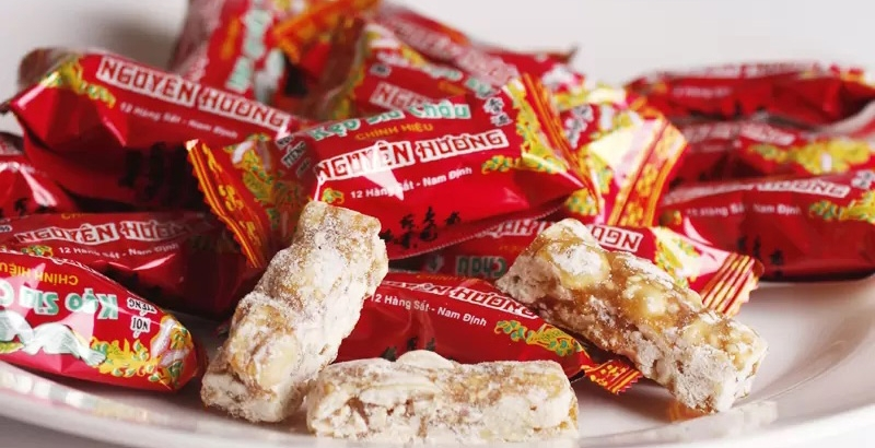 4 loại kẹo đặc sản nên thưởng thức cùng chè Thái Nguyên