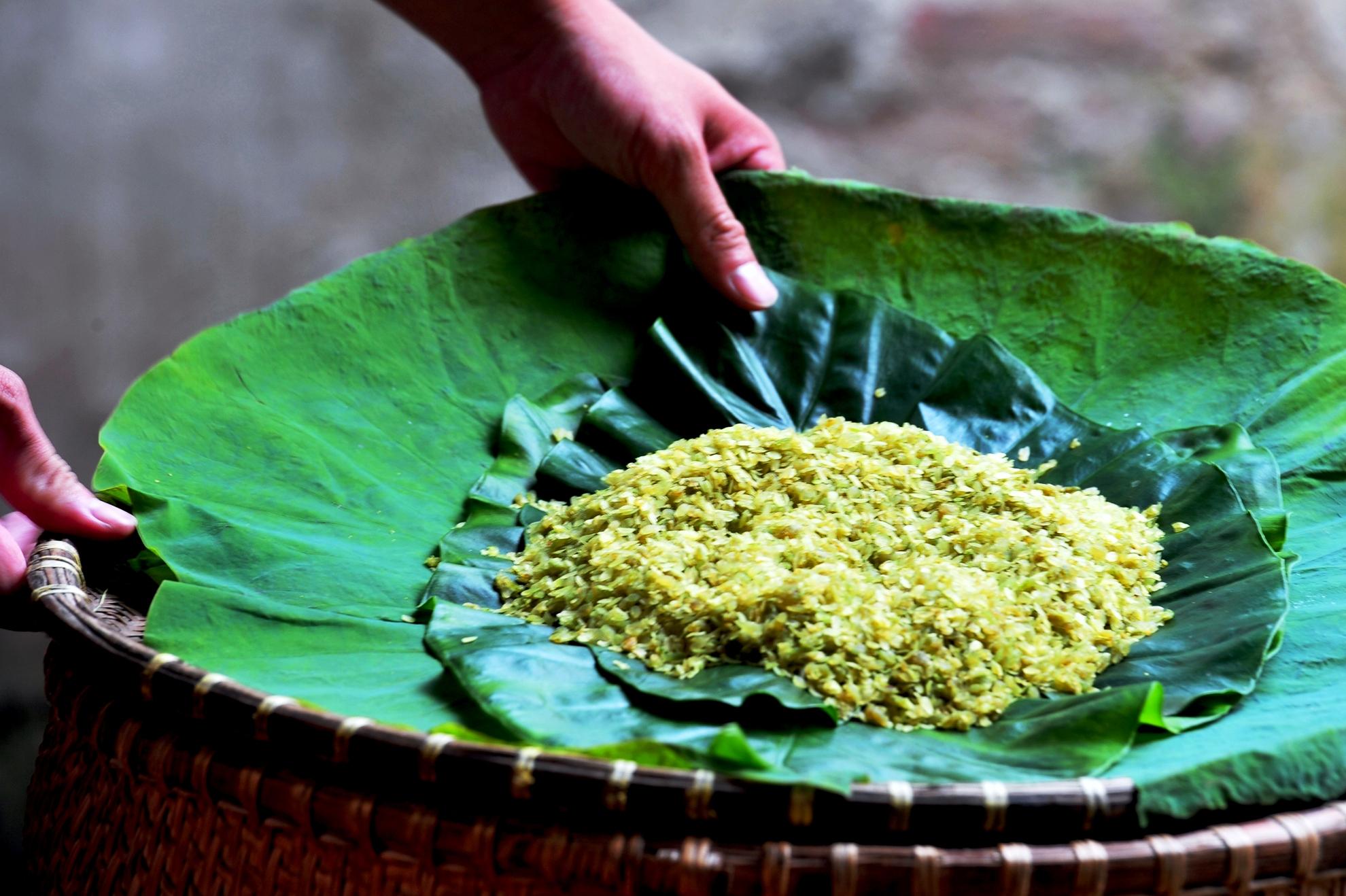Cốm Hà Nội - nét đẹp văn hóa lâu đời