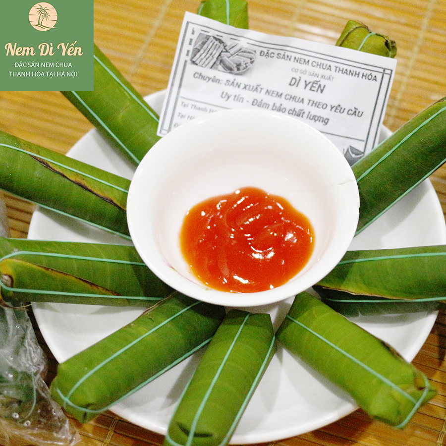 Thực hư chất lượng nem chua thanh hóa tại Hà Nội
