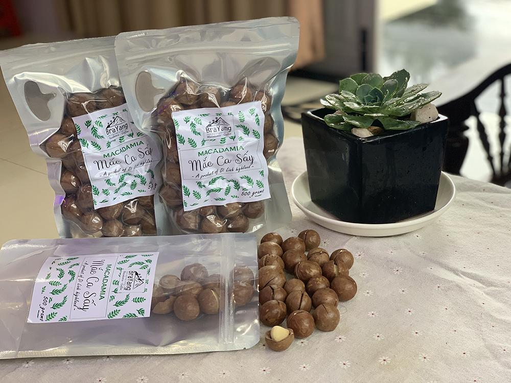 Hạt Macca sấy khô Lâm Đồng