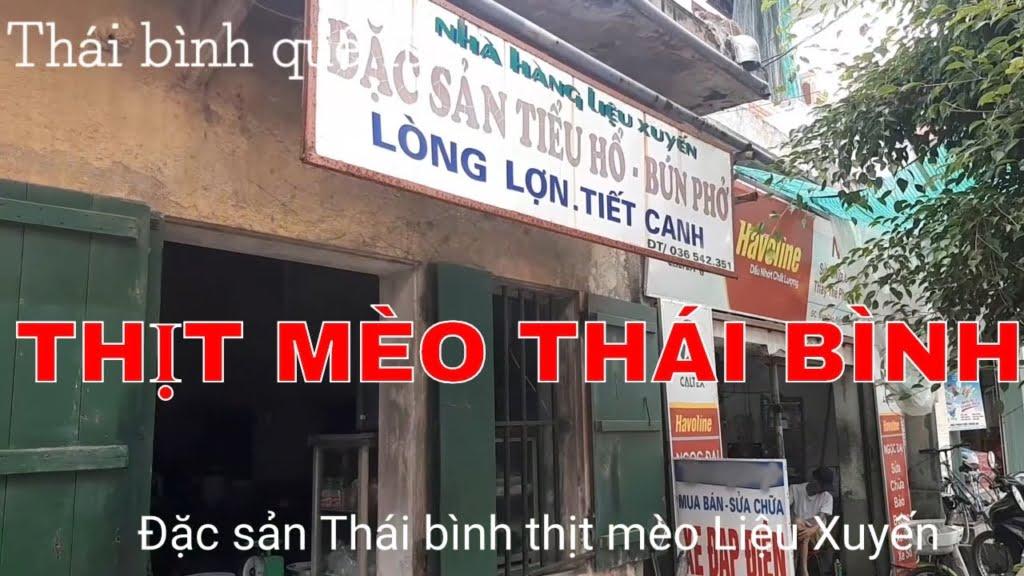 Thịt mèo Thái Bình