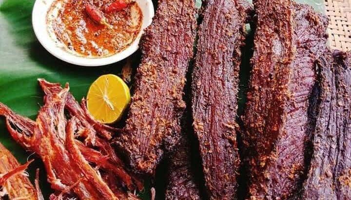 Lợi và hại của món thịt trâu gác bếp