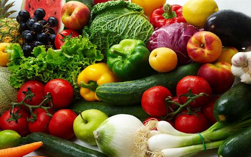 Duy trì ăn hoa quả và rau